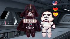 Amigurumi Crochet motif  Star Wars  Darth Vader  par DilekDesign