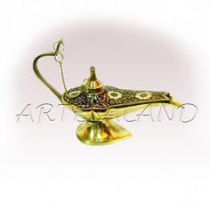 Lampara aladino de bronce - artesaland.com