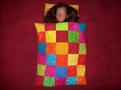 Dolls patchwork quilt and pillow.  Please take a look at the items I sell @ www.lemayed-for-you.webs.com, thanks.