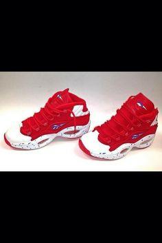 1e0ff74d86bb shoes red white swag dope reebok reeboks Custom Sneakers