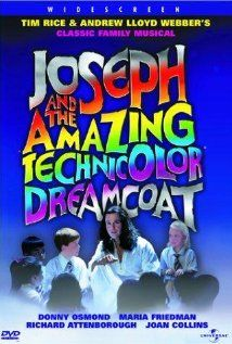 Joseph & Amazing Technicolor Dreamcoat DVD movie video at CD Universe, This musical is a DVD starring Donnie Osmond, Maria Friedm an, Richard Attenborough, Robert. Christopher Biggins, Rags To Riches Stories, Tim Rice, Richard Attenborough, Nerd, I Love Cinema, Donny Osmond, Marie Osmond, The Osmonds