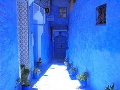 青で彩られたモロッコの街『シャウエン』