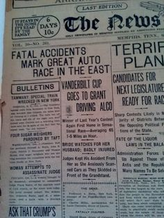 OCT 1, 1910 NEWSPAPER PAGE #2866- LOUIS CHEVROLET RACING + 101 WILD WEST SHOW