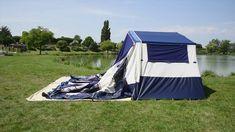 Jamet-AIR - opblaasbare vouwwagen / inflatable trailer tent