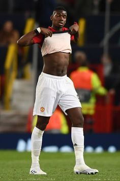 Paul Pogba of Manchester United after the UEFA Champions League Quarter Final first leg match between Manchester United and FC Barcelona at Old Trafford on April 2019 in Manchester, England. Manchester United, Manchester England, Manchester City, Paul Pogba, Old Trafford, Arsenal Fc, Uefa Champions League, Fc Barcelona, Eden Hazard