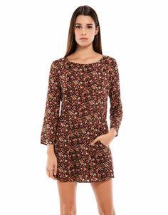 Bershka Turkey - Bershka floral print jumpsuit 69,95 tl