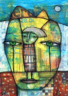 YELLOW HEAD by Dan Casado by Dan Casado, via Flickr