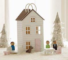 Mini Dollhouse Set