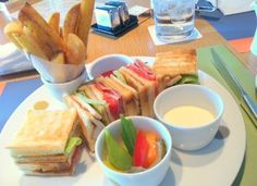 One good looking plate of clubsandwich at Capitol Hotel Tokyu