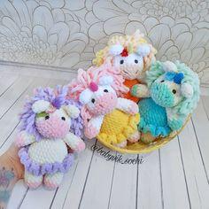 Crochet unicorn free amigurumi pattern