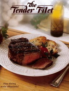Tender Filet cover for 1994.