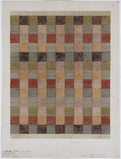 Anni Albers - Design for a jute rug, 1927
