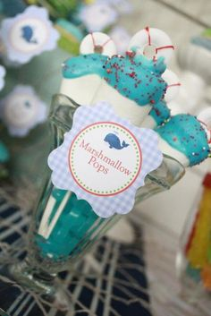 "Photo 1 of 36: Nautical / Baby Shower/Sip & See ""Nautical Baby Shower"" 