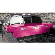 Pink toolbox for the bed of your pickup truck