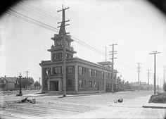 1910: Georgetown City Hall. Photo: Seattle Municipal Archive