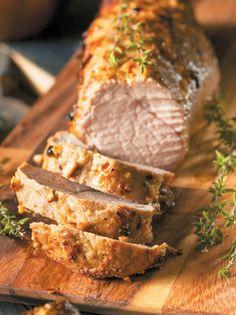 Pork Tenderloin Recipes, Pork Recipes, Baking Recipes, Real Food Recipes, Yummy Food, Healthy Recipes, Food N, Food And Drink, True Food