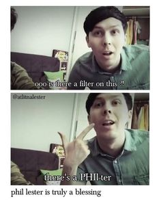 Their live stream about behind the scenes if danandphilgames on danisnitintresting