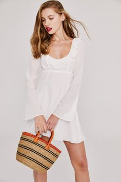 The SIERRA Dress in White!  #StoneColdFox  #WhatAFox
