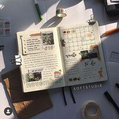 Bullet Journal Notes, Bullet Journal Aesthetic, Bullet Journal Ideas Pages, Bullet Journal Spread, Bullet Journal Layout, Bullet Journal Inspiration, Journal Pages, Study Journal, My Journal
