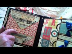 bookbox with october afternoon public library mini album DT #2 November 2014 - YouTube