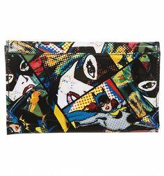 #DC #Comics #Batgirl Comic Strip Envelope Wallet xoxo