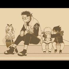 One would hope he had stopped with the goggles. But then again, Kakashi wears that mask.