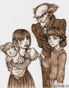 Lemony Snicket by EddieHolly.deviantart.com on @deviantART