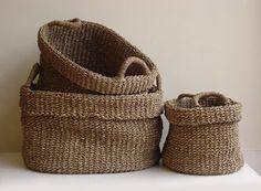 Oval Seagrass Utility Basket