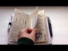 Midori Traveler's Notebook: How I'm Using Mine - YouTube