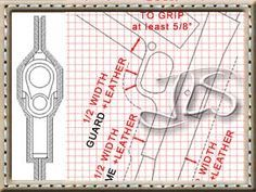 Make holster patterns of your own.  Clear instructions in pdf download.