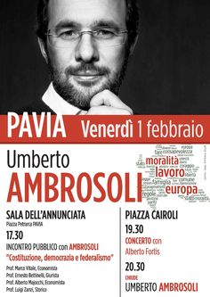 Umberto Ambrosoli a Pavia