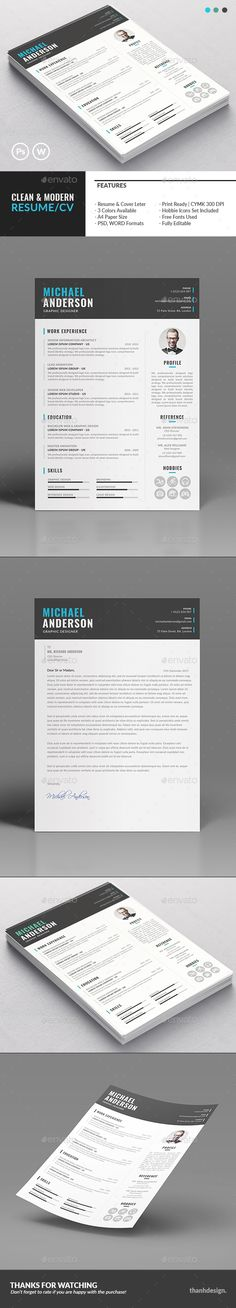 The Resume Template PSD, MS Word. Download here: http://graphicriver.net/item/the-resume/16178891?ref=ksioks