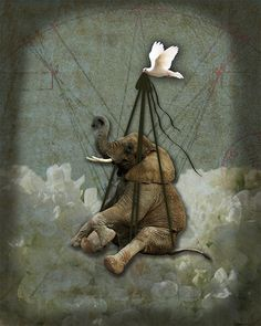 Illustration Friday ~ Impossibility by queen bee you see, via Flickr