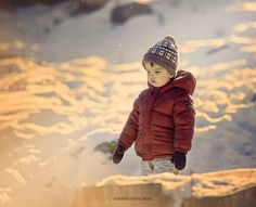 Winter light - Who says winter can't be warm and beautiful. Golden hour in the mountain with my cute baby boy. Cute Baby Boy, Cute Babies, Winter Light, Golden Hour, Winter Jackets, Mountain, Warm, Boys, Photography