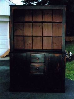 Image detail for -Primitive Cupboards / Colonial Cupboard