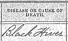 """list of """"Causes of Death"""" that have no definitions"""