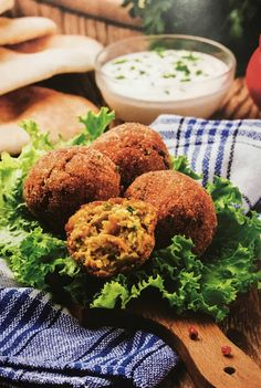 Falafel with Tahini Sauce Recipe…… Hello friends 😀 Falafel is a very popular Middle Eastern snack. Let us discuss its recipe. Preparation Time : 15 minutes Cooking Time : 15 minutes Ser…