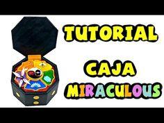 Cómo hacer la caja de los Miraculous - Tutorial Miraculous Ladybug - YouTube