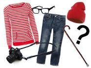 Where's Waldo Halloween costume or 4 a party If I ever don't know what 2 do I'm putting on skinny jeans nerd glasses a cute red hat and a striped shirt