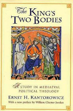 The King's Two Bodies: A Study in Mediaeval Political Theology. Worth purchasing for further reading especially in relation to Shakespeare's exploration of the body politic and kingship.