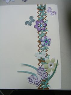 Made this border with the creative memories argyle border punch, garden vine border punch, and fresh picks embellishments so easy. give it a try.. visit https://www.creativememories.ca/user/kristafrench for more great products