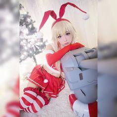 Shimakaze Kancolle Christmas ver. Cosplay #Shimakaze #Kancolle #KantaiCollection #ShimakazeCosplay #KancolleCosplay #Cosplay #Cute #Sexy #kawaii #moe #beautiful #animecosplay #Anime #AnimeLovers #AnimeLover #Otaku #otakuworld #worldcosplay #cosplayworld