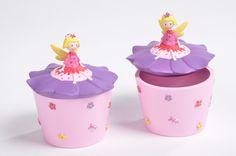 Flower Fairy Trinket Box