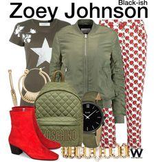 Inspired by Yara Shahidi as Zoey Johnson on Black-ish