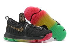 super popular ff8ed f2f14 Buy Rise and Shine Kevin Durant 9 Rainbow Mens Basketball Shoes 2018 For  Sale