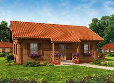 Ten #projekt to wymarzona propozycja dla właścicieli działek w terenach wiejskich i górskich, ten dom znakomicie prezentuje się w podmiejskiej, prowincjonalnej scenerii. Zobacz więcej - kliknij w Pina:)! Dream House Exterior, Barbados, House Plans, Cabin, House Styles, Home Decor, Cross Stitch, Houses, Manufactured Housing