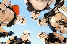 """The Southern California Garrison is straight outta Coruscant in this shot from Mark Edwards Photographer."""