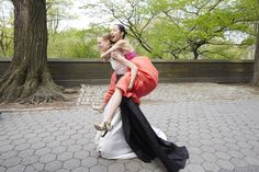 Spring\'s Most Mesmerizing Ball Gowns Stop Traffic in Manhattan - Vogue