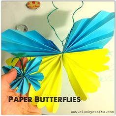 Paper Butterfly Tutorial