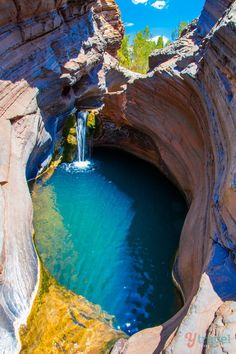 Hamersley Gorge, Karijini National Park, Western Australia - put this place on your Aussie travel bucket list